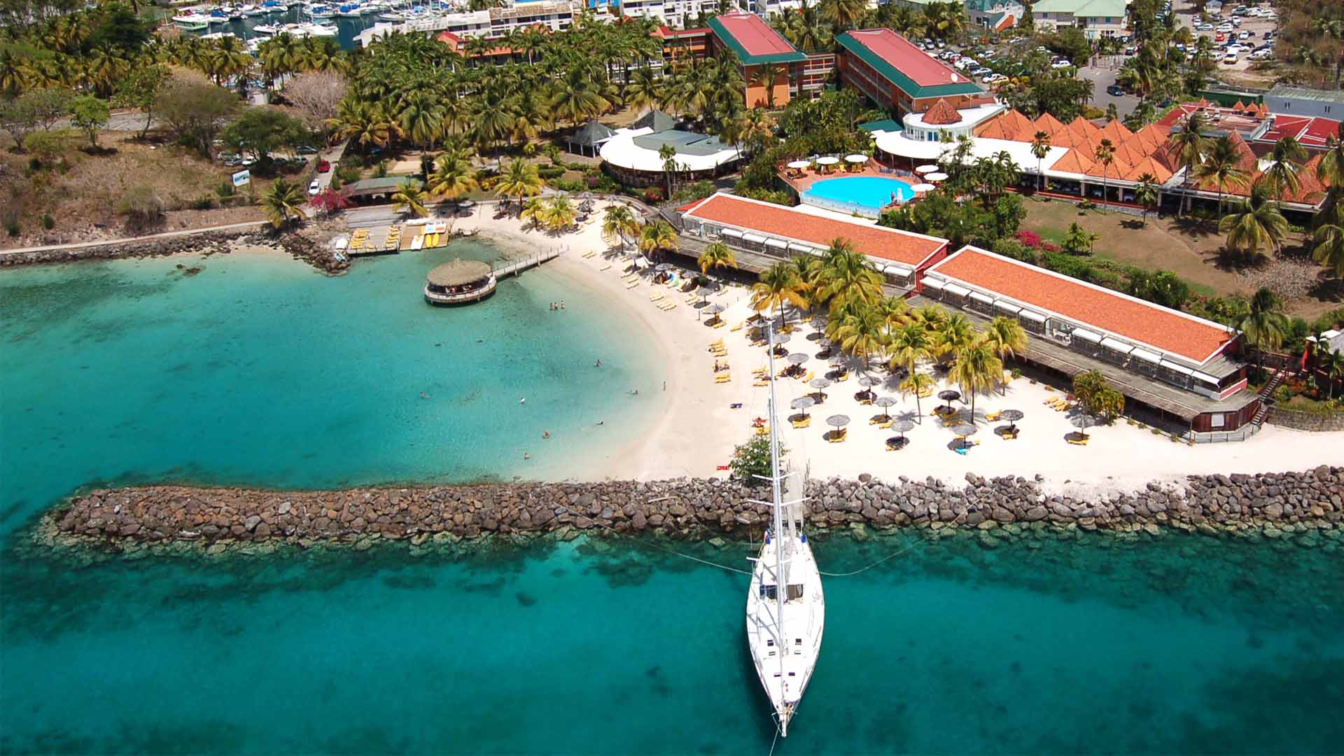 Une situation idéale pour découvrir les beautés de l'île